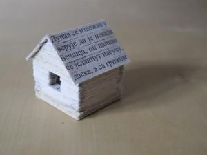 Little House of Nostalgia, 2010,3cmx3cmx4cm